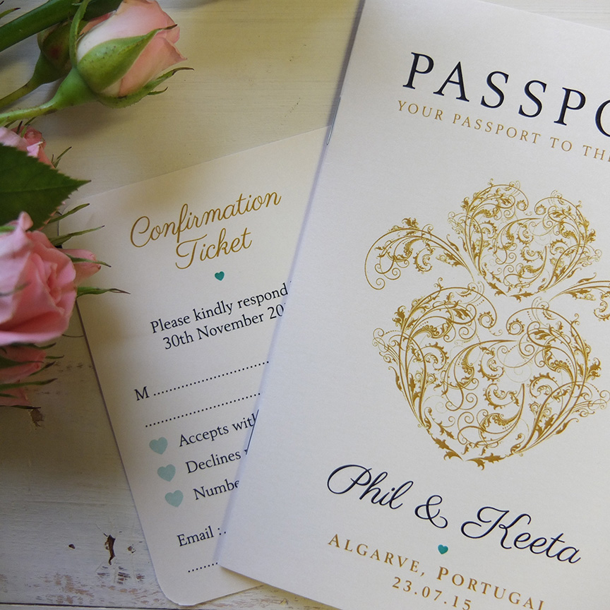 Wedding Stationery designed & printed - Bournemouth, Poole ...